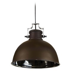 Farmhouse Barn Light Bronze and Nickel Nautilus by Kenroy Home Lighting