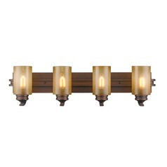 Golden Lighting Hidalgo Sovereign Bronze Bathroom Light