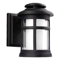 Feiss Lighting Oakfield Dark Weathered Zinc LED Outdoor Wall Light