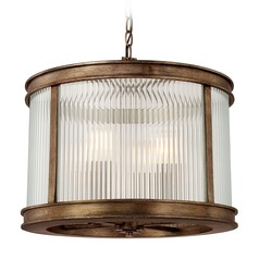 Mid-Century Modern Pendant Light Bronze Reid by Capital Lighting