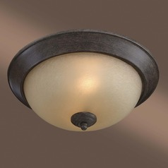 Minka Lavery Iron Oxide Flushmount Light