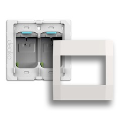 Deako Smart Switch Two Gang Housing Kit