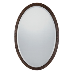 Quoizel Lighting Duffield Oval 24.5-Inch Mirror CKDF1753