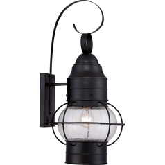 Quoizel Cooper Mystic Black Outdoor Wall Light