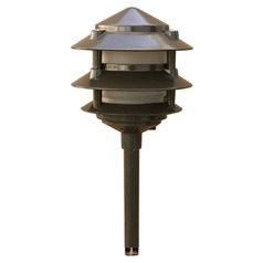 Dabmar Lighting Bronze Path Light