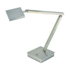 Access Lighting Taskwerx Brushed Steel Task / Reading Lamp