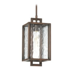 Craftmade Lighting Cubic Aged Bronze Brushed Outdoor Hanging Light
