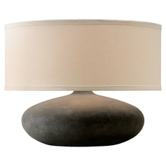 Troy Lighting Zen Alabastrino Table Lamp with Drum Shade