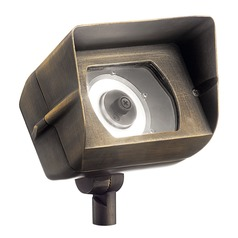 Kichler Lighting Centennial Brass Low Voltage LED Flood - Spot Light 2700K