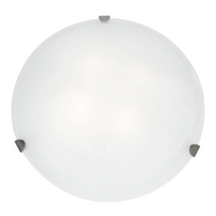 Access Lighting Mona Brushed Steel Flushmount Light