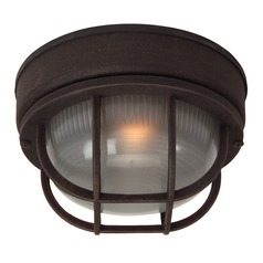 Craftmade Lighting Bulkhead Rust Close To Ceiling Light