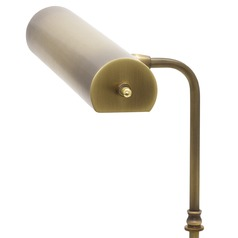 House Of Troy Task Antique Brass LED Piano / Banker Lamp