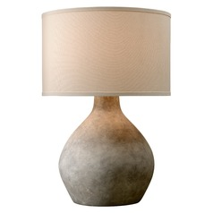 Troy Lighting Zen Lava Table Lamp with Drum Shade