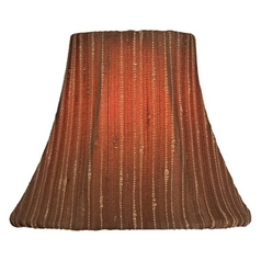 Stripe Bell Lamp Shade with Clip-On Assembly