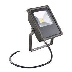 LED Flood Light Bronze 20-Watt 120v-277v 1850 Lumens 5000K 110 Degree Beam Spread
