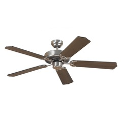 Sea Gull Lighting Quality Max Brushed Nickel Ceiling Fan Without Light