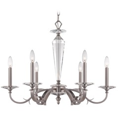Crystorama Lighting Hugo Pewter Chandelier