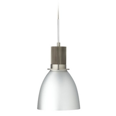 Hart Lighting Satin Nickel LED Mini-Pendant Light