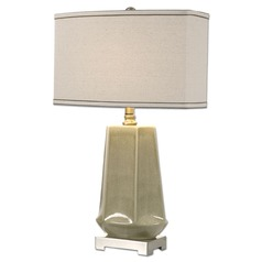 Uttermost Valbona Rust Grey Lamp