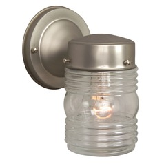Craftmade Lighting Nautical Brushed Nickel Outdoor Wall Light