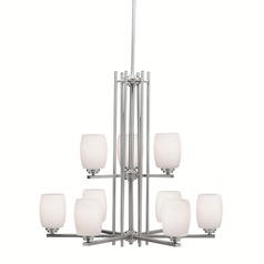 Kichler Lighting Eileen Brushed Nickel LED Chandelier
