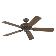 Sea Gull Lighting Quality Max Heirloom Bronze Ceiling Fan Without Light