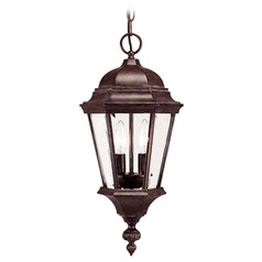 Savoy House Walnut Patina Outdoor Hanging Light