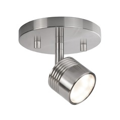 Modern Brushed Nickel LED Monopoint Spot Light 3000K 299LM