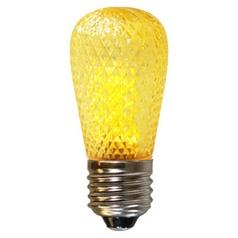 American Lighting Yellow Color S14 LED Light Bulb - 10-Watt Equivalent