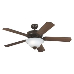 Sea Gull Lighting Quality Max Plus Heirloom Bronze Ceiling Fan with Light