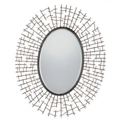 Quoizel Lighting Fleetwood Oval 33-Inch Quoizel Mirror CKFD1762