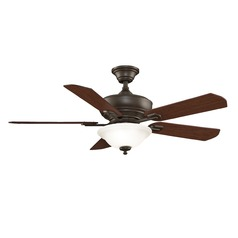 Fanimation Fans Camhaven Oil-Rubbed Bronze Ceiling Fan with Light