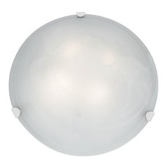 Access Lighting Mona White Flushmount Light