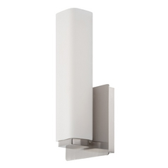 Modern Forms Vogue Brushed Nickel LED Sconce