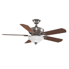 Fanimation Fans Camhaven Pewter Ceiling Fan with Light
