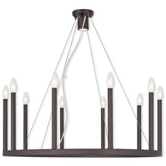 Livex Lighting Alpine Bronze Chandelier