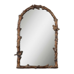 Arched 25.5-Inch Mirror