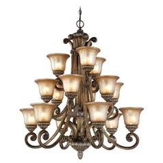 Dolan Designs 3-Tier 15-Light Chandelier in Verona