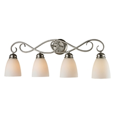 Cornerstone Lighting Chatham Brushed Nickel Bathroom Light