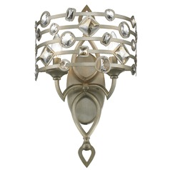Golden Lighting Coronada White Gold Sconce