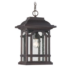 Quoizel Lighting Cathedral Palladian Bronze Outdoor Hanging Light