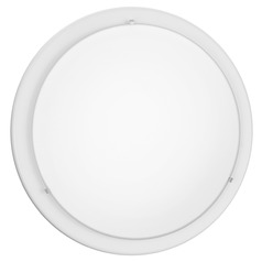 Eglo Planet White Flushmount Light
