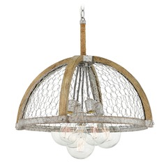 Farmhouse Edison Bulb Pendant Light Zinc 24.75-Inch by Hinkley Lighting