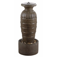 Kenroy Home Lighting Ernesto Tuscan Earth Outdoor Fountain