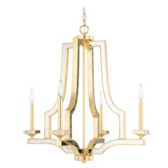 Capital Lighting Abella Capital Gold Chandelier