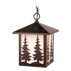 Yosemite Burnished Bronze Outdoor Hanging Light by Vaxcel Lighting