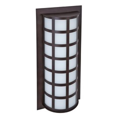 Besa Lighting Scala Bronze LED Outdoor Wall Light