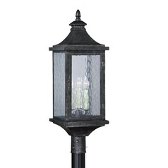 Cavanaugh Athenian Bronze Post Light by Vaxcel Lighting