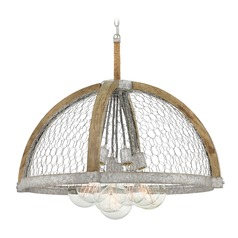 Farmhouse Edison Bulb Pendant Light Zinc 30.5-Inch by Hinkley Lighting