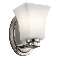 Traditional Sconce Brushed Nickel Clare by Kichler Lighting